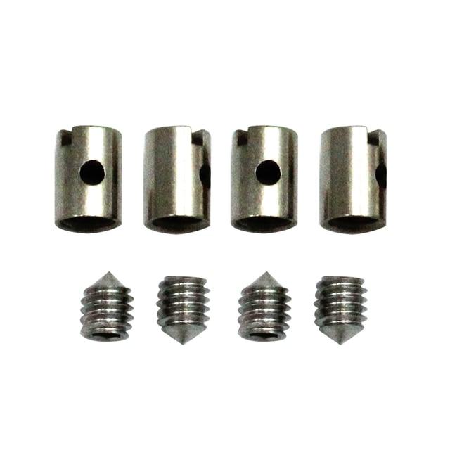 Extracteur daccélérateur pour moto   8 pièces, extracteur daccélérateur de 5mm tondeuse de Quad, pièces de remplacement de câble sans soudure, pièces de rechange de voiture