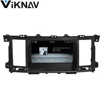 Tesla style car GPS navi DVD player For Infiniti QX80 2013 2014 2015 2016 2017 car radio multimedia player stereo image
