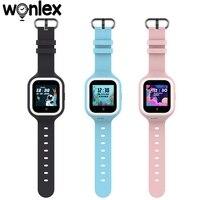 Wonlex Smart-Watch Baby SOS Tracker anti-perso fotocamera per bambini smartphone 4G KT21 videochiamata posizione Wifi orologi anti-smarrimento