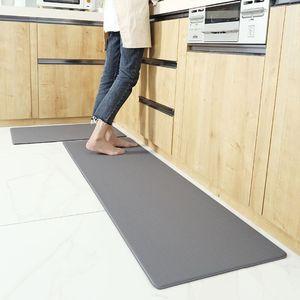 Mata kuchenna przeciw zmęczeniu diamentowy splot antypoślizgowe wodoodporne dywaniki ze sztucznej skóry