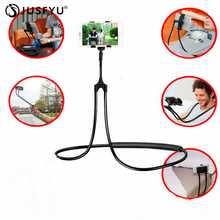 Universal Cell Phone Holder Flexible Long Arm lazy Phone Holder Tablet Car Mount Bracket For iPhone7 8 Xiaomi Pocophone F1 Stand