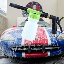 Hose Foam-Sprayer Cannon Dial-Foam Car-Wash Cleaning Garden Quick-Connector Metal
