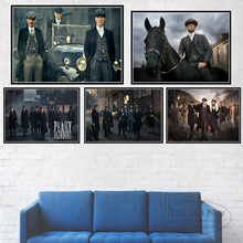 Posters And Prints Peaky Blinders Cillian Murphy TV Show Canvas Painting Pictures On The Wall Decoration Home Decor Quadro