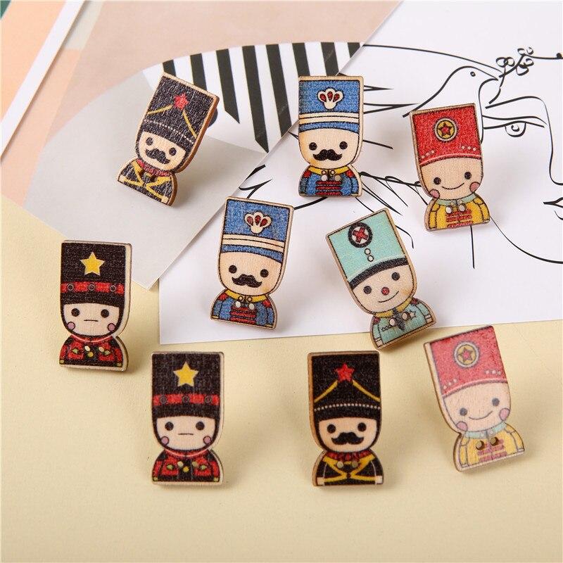 9pcs Anime Characters Push Pins Cute Thumbtack Creative Cork Board Layout Scene Pushpin Decoration Thumb Tacks Pin Office