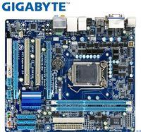 Gigabyte GA-H55M-S2H placa-mãe original para intel  lga 1156 ddr3 H55M-S2H 8gb suporte i3 i5 i7 h55 usado desktop motherboard