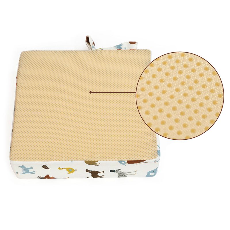 Baby Children Seat Cushion Kids Non-slip Dining Chair Increased Pad Booster Mat U50F