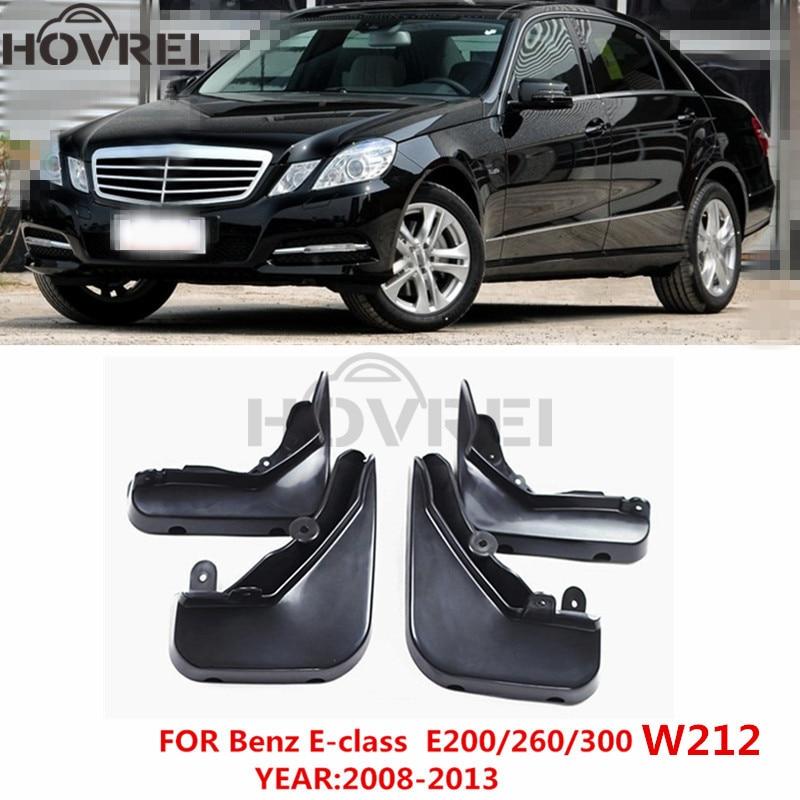 Mudguards For Mercedes Benz W212 E-Class Sedan 2009-2013 Splash Guards Mud Flaps