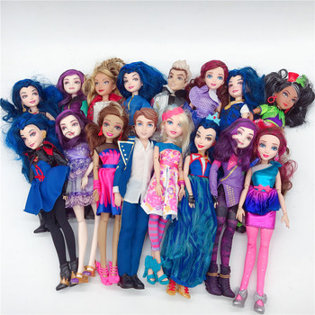Descendent Dolls Princess Model Classic Action Figure Body Joints Movable Dolls Toys For Girl Kids Gift Limited Collection Toy