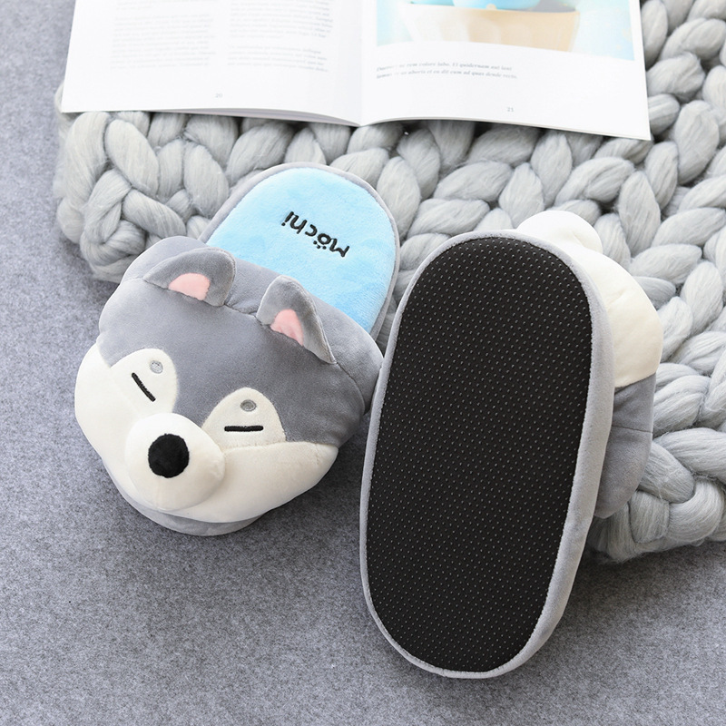 Cute Shiba Akita Innu Slippers 2