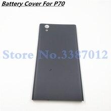 Couvercle de porte de batterie arrière arrière pour Lenovo P70 p70a boîtier avec boutons pièces de rechange de réparation de remplacement pour Lenovo p70 a