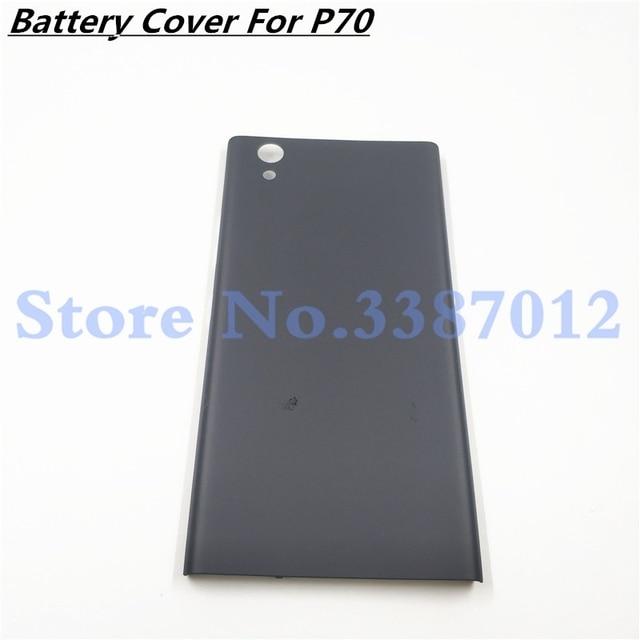 אחורי חזור סוללה דלת כיסוי עבור Lenovo P70 p70a דיור עם חלקי חילוף תיקון החלפת כפתורי עבור Lenovo p70 a