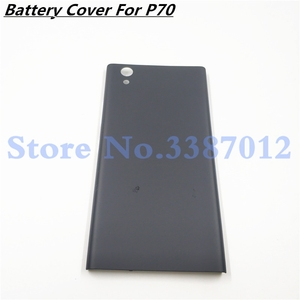Image 1 - Rear Back Battery Door Cover For Lenovo P70 p70a Housing with Buttons Replacement Repair Spare Parts For Lenovo p70 a