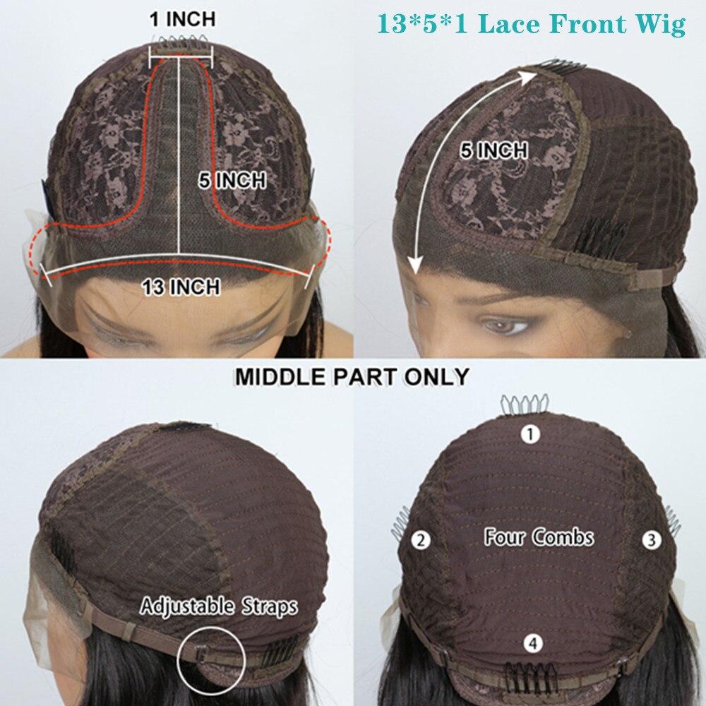 13x5 peruca dianteira do laço 1b perucas