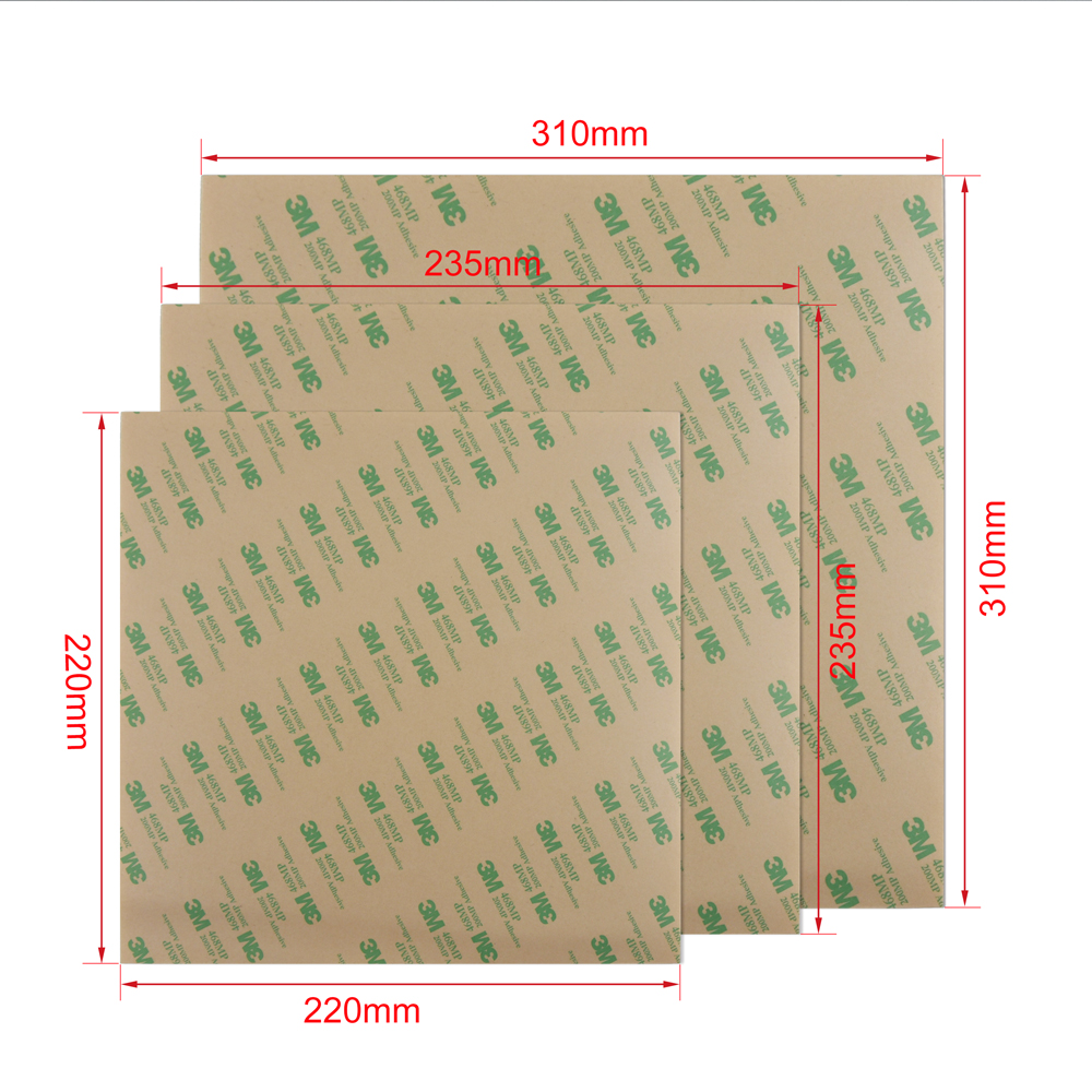 IsMyStore: 3D Printer Parts Cold PEI Frosted Build Surface Polyetherimide Cold PEI Sheet 0.3mm Thickness For Ender 5 CR10 Ender 3