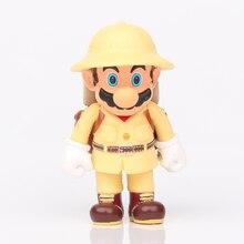 Super Mario Bros Figuren Klimmer Mario Leuke Speelgoed Model 10Cm Anime Super Mario Brother Pvc Action Figure Mario Figma poppen Geschenken