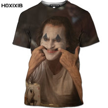 Novedad de 2020 camisa 3d do coringa, camisa de moda de verano em 3d para homem, camisa do vintage