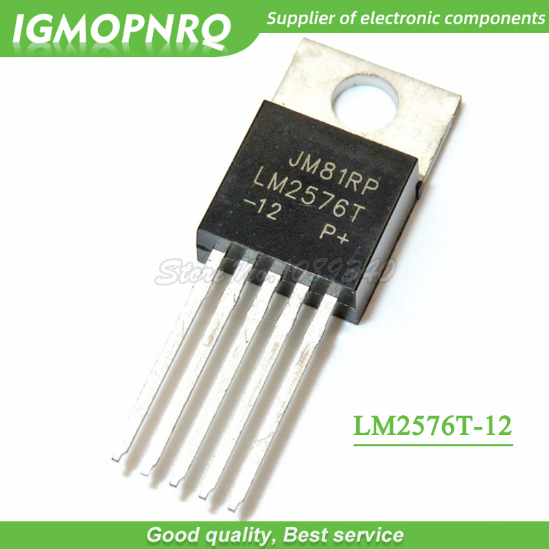 10pcs LM2576T-<font><b>12</b></font> TO220 <font><b>LM2576</b></font>-<font><b>12</b></font> TO-220 TO220-5 IGMOPMRQ image
