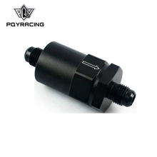 PQY   AN  6 (AN6) Black Anodised Billet Fuel Filter 30 Micron PQY SLF0209 06