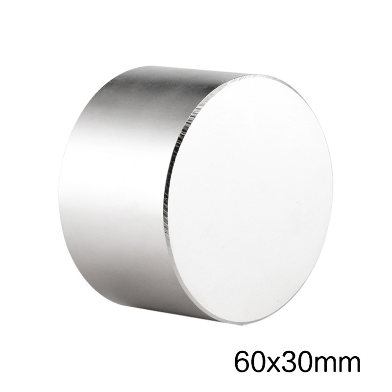 1PCS 50x30mm Super Powerful Strong Magnetic NdFeB Permanent Neodymium Magnets disc <font><b>50x30</b></font> mm N35 Big Round Magnet 50*30 mm image