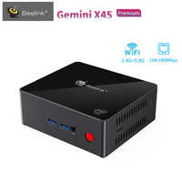 Beelink Gemini X45 Mini PC Intel GEMINI LAKE J4105 UHD Graphics 600 1000Mbps 8GB+128/512GB Support 4K 2.4GHz+5GHz WIFI USB3.0 PC