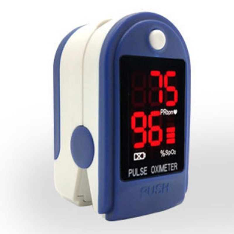 Portable Finger Oximeter Fingertip Pulsoximeter Medical Equipment With Sleep Monitor Heart Rate Spo2 PR Pulse Oximeter