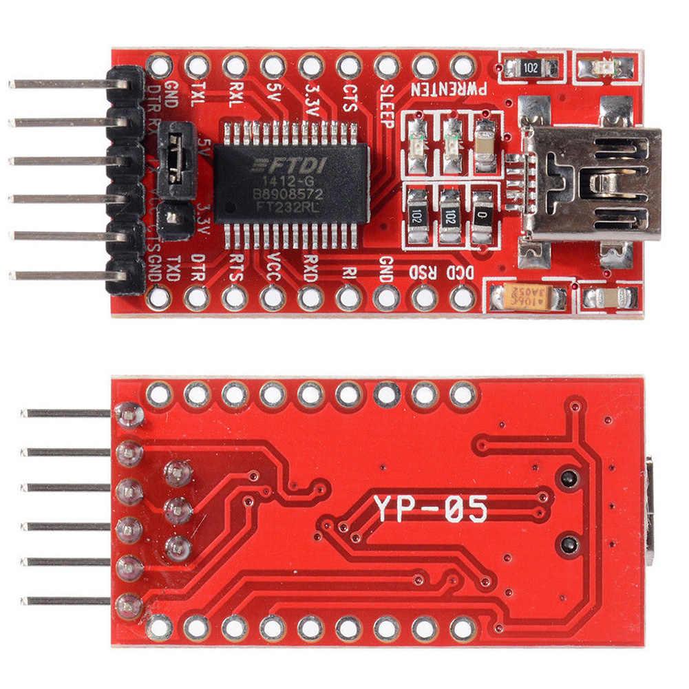 5V 3.3V FTDI FT232RL USB naar TTL Seriële Converter Adapter Module Mini Poort Deel voor Arduinos Hot Wereldwijd