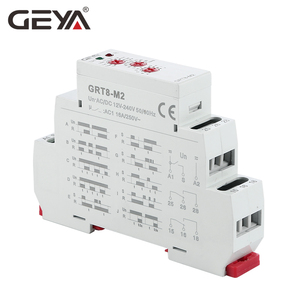 Image 2 - Free Shipping GEYA GRT8 M 16A Multifunction Timer Relay with 10 Function Choices AC DC 12V 24V 220V 230V Time Relay