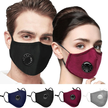 1 Pc Protective Mask Air Dust Pollution 5 Layers Respirator Washable Reusable Mouth Masks