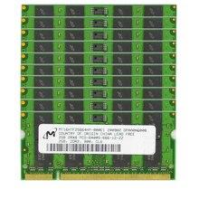 10pcs lot 2GB PC2-6400S DDR2 800MHz 200pin 1.8V SO-DIMM USED RAM Laptop Memory Wholesale price