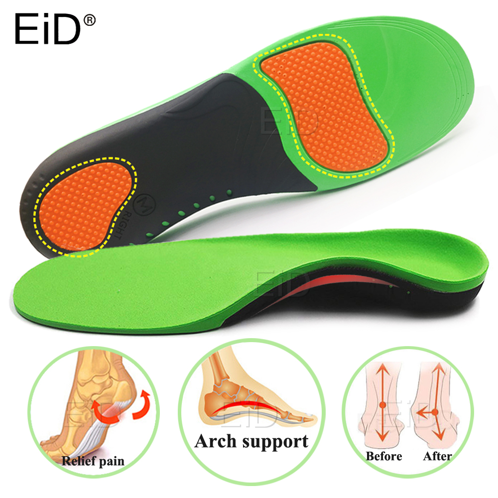High Quality EVA Orthotic Insole For Flat Feet Arch Support Orthopedic Insole For Men Shoe Pad Shoes Insert Shoes Sole Unisex