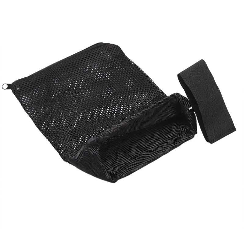 Quick Unload Nylon Mesh Black For Shooting Ammo Catcher Tactical Accessories AR 15 Ammo Brass Shell Catcher Zippered Closure image