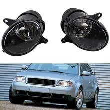 цена на Car Fog Light Car Front Bumper Grille Driving Lamps Auto Fog Light Lamp For A6 C5 2003-2004 High Quality Car Accessories