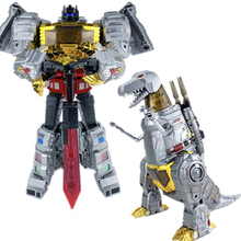 GigaPower Transformation HQ01R HQ-01R Grimlock Dinobot Dinosaur Tyrannosaurus Rex GP Mode Alloy plating Action Figure Robot in stock toy genuine version movie 4 leader class dinobots robot dinosaur tyrannosaurus grimlock with retail box
