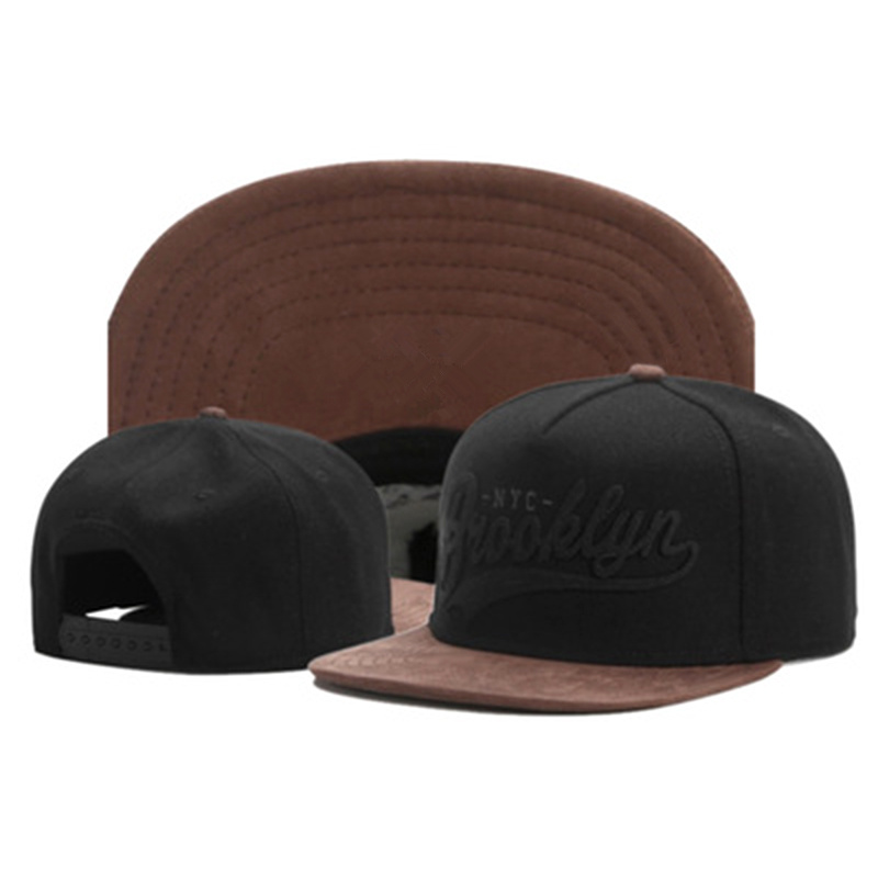New Brand FASTBALL CAP BROOKLYN Faux Suede Hip Hop Red Snapback Hat For Men Women Adult Outdoor Casual Sun Baseball Cap Bone