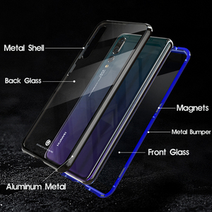Image 5 - 360 Full Body Protective Case For Huawei P20 Pro P20Pro P 20 Magnetic Bumper Front Tempered Glass Film Cover Huawei P20 Pro Case