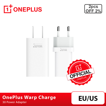 Original OnePlus Warp Charge 30 Power Adapter Warp 30W EU Charger EU US Charger Cable Quick Charge 30W For OnePlus 8 7 7T 8 Pro