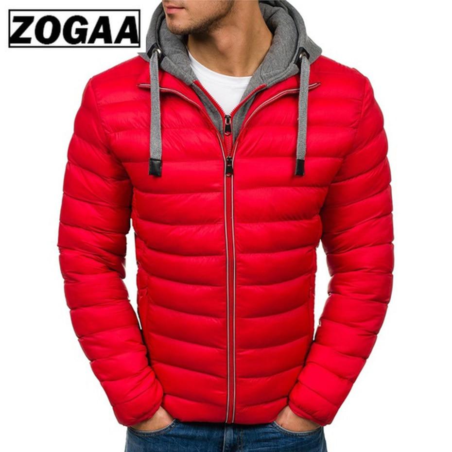 Zogaa 2018 Jacket Parka Men Hot Sale Quality Autumn Winter Warm Outwear Brand Slim Mens Coats Casual Windbreak Jackets Men S-3XL