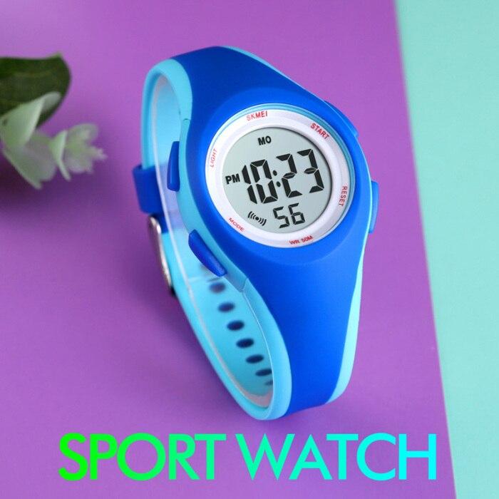 Crianças crianças estudante esportes relógio de pulso