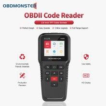 OBD2 Scanner Auto Diagnose Werkzeug YA401 Schalten Sie Check Engine Licht Mehrsprachiges Freies Update Automotive Fehler Code Reader