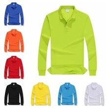 Herfst Hoge Kwaliteit Polo Shirts maatwerk Vrouwelijke Toevallige Effen Sweatshirt Vrouwen Katoen Lange Mouwen Tops Shirt Plus Size Herfst Hoge Kwaliteit Polo Shirts maatwerk Vrouwelijke Toevallige Effen Sweatshirt