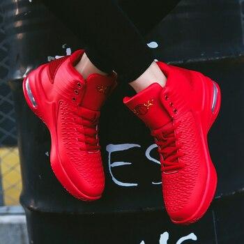 2019 nuevo De alta De los hombres zapatillas De baloncesto deportes clásicos zapatillas De hombre zapatillas entrenador grande De talla grande 36-47 hombres Chaussures De cesta De zapatos 1