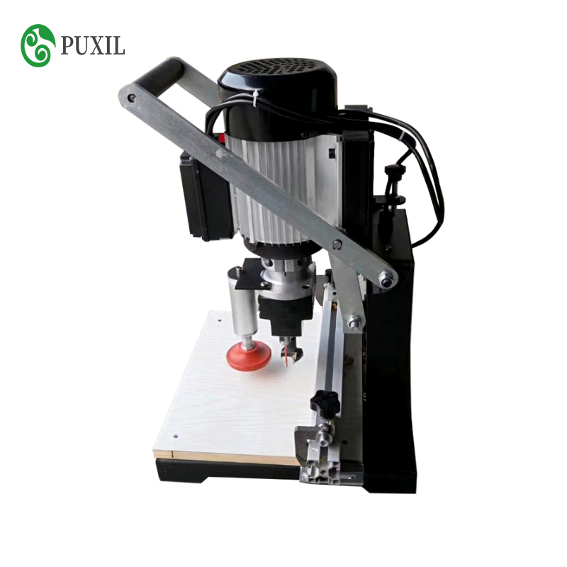 Woodworking Hinge Drilling Machine Single Head Three-in-one Dust-free Pneumatic Manual Punching Machine Portable Punching Machin