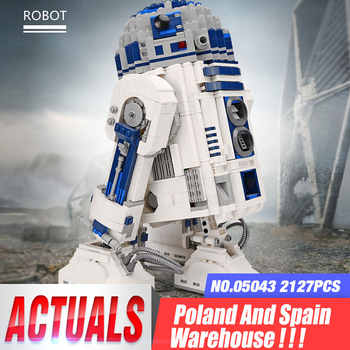 DHL 05043 Star Plan Series The 10225 R2D2 Robot Set Building Blocks Bricks Assembly Kit Toys As New Christmas Gifts For Children - DISCOUNT ITEM  20% OFF All Category