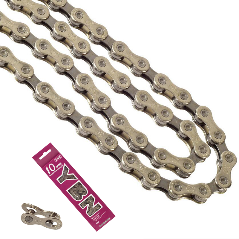 Bicycle Chain Quick Connector Steel 116 Links 10//30 Speed HG95 MTB Bike Chain US