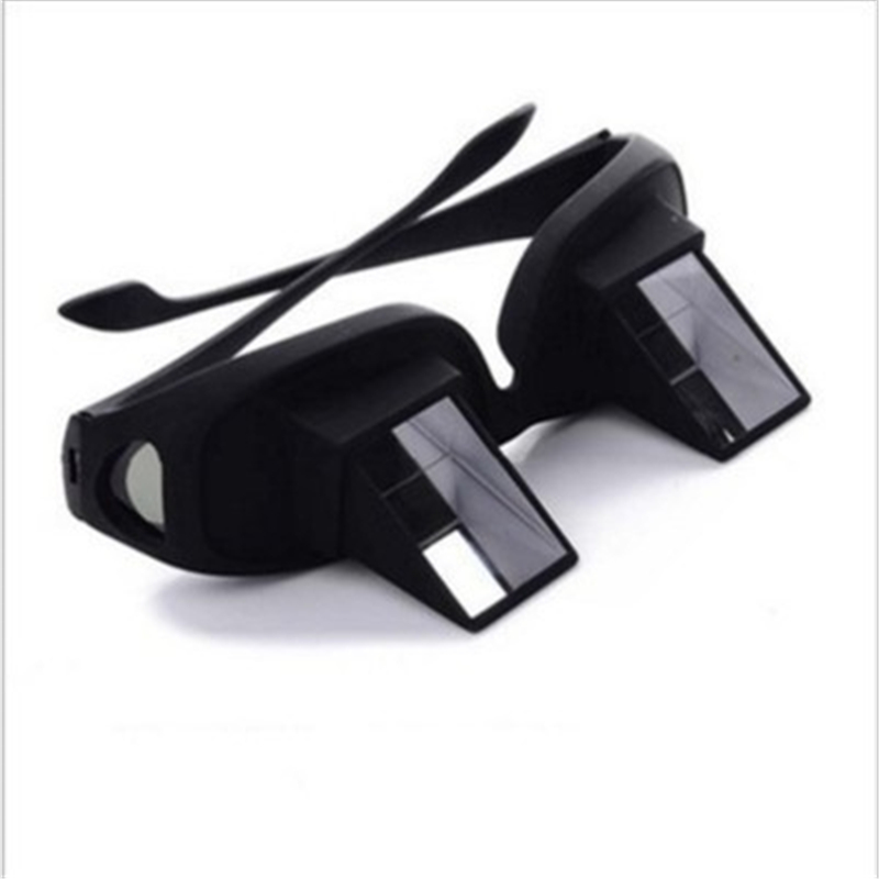 Amazing Lazy Creative Periscope Horizontal Reading TV Sit View Glasses On Bed Lie Down Bed Prism Spectacle The Lazy Glasses 2019