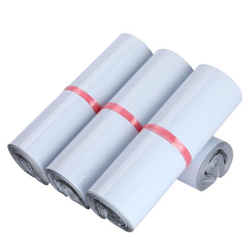 INPLUSTOP 100 шт./лот белые Экспресс-сумки водонепроницаемые Поли Конверты почтовые пакеты самозапечатывающийся клеящийся пакет Пластиковые кур...