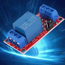 цена на 1-Channel Relay Module DC 5V High/Low Level Trigger with Optocoupler Isolation for Arduino motor