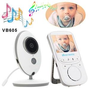VB605 Беспроводной Детский монитор, камера 720P, охранное наблюдение, Колыбельная двухсторонняя аудио, ночное видение, температурный монитор