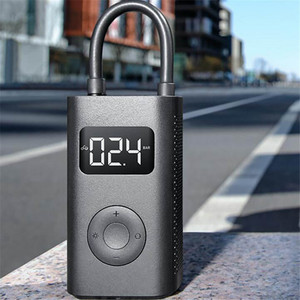 Image 5 - Original Xiaomi Mijia Portable Smart Digital Tire Pressure Detection Electric Inflator Pump for Bike Motorcycle Car Football