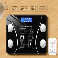 Pan Pan da escala corpo balanças eletrônicas disse pequena casa inteligente feminino corpo perda de gordura dieta balanças de precisão de medição